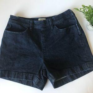 J crew jean shorts